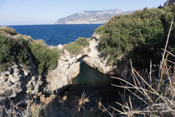 Amalfi Coast, Baths Of Queen Giovanna Sorrento