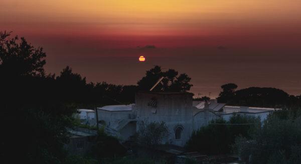 Amalfi Coast - Capri, Sunset
