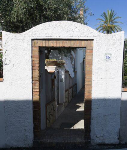 Amalfi Coast - Capri, House Entry