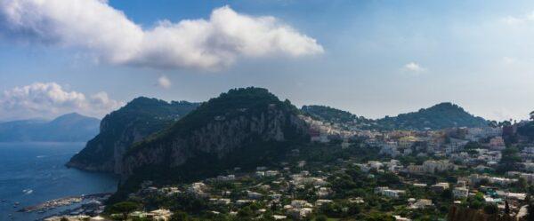 Amalfi Coast, Capri Panorama