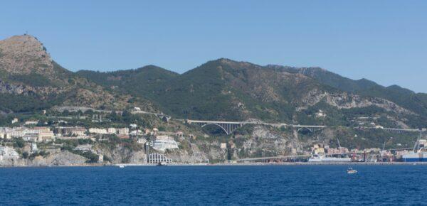 Amalfi Coast, Highway Bridges Close To Salerno