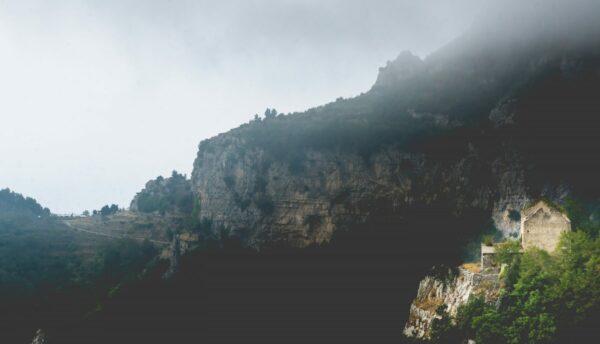 Amalfi Coast - Path Of The Gods, Cloudy View