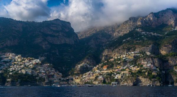 Amalfi Coast, Sea View To Positano