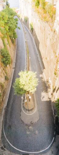Amalfi Coast, U-Turn At Sorrent