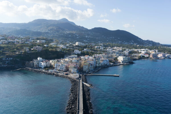 View To Ischia Town From Aragonese Castle