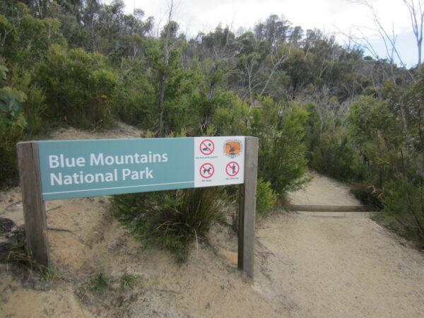 Australia, Blue Mountains Sign