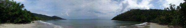 Australia - Cape Tribulation, Panorama Beach View