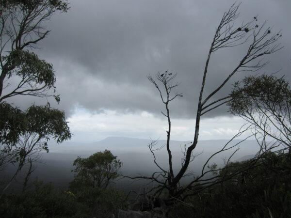 Australia - Grampians, Cloudy Landscape