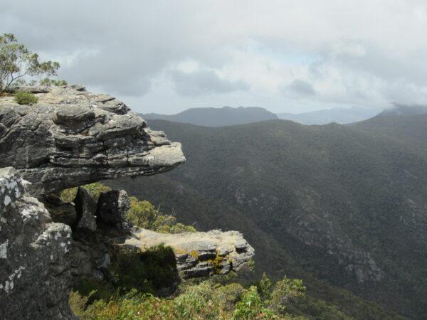 Australia - Grampians, Reed Lookout The Balconies
