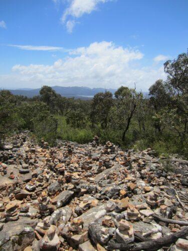 Australia - Grampians, Stone Formation View