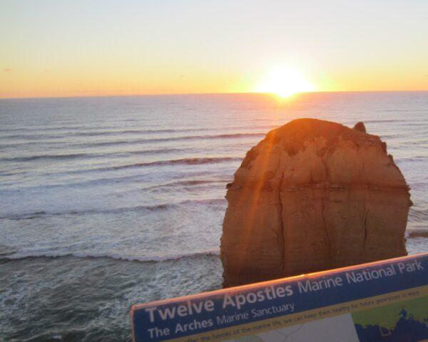 Australia - Great Ocean Road, Twelve Apostles Sign