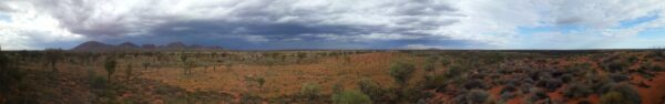 Australia, Kata Tjuta And Ayers Rock Panorama