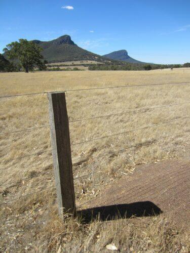 Australia, Mt Sturgeon Landscape