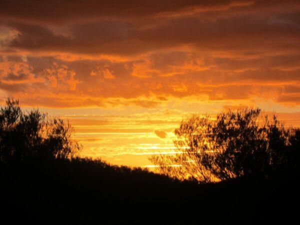 Australia - Outback, Red Sunset Landscape