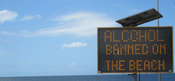 Sydney Alcohol Banned On The Beach