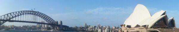 Sydney, Harbour Bridge And Opera