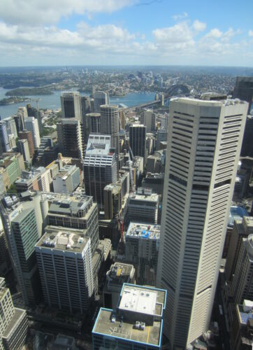 Sydney, View From Tower Eye