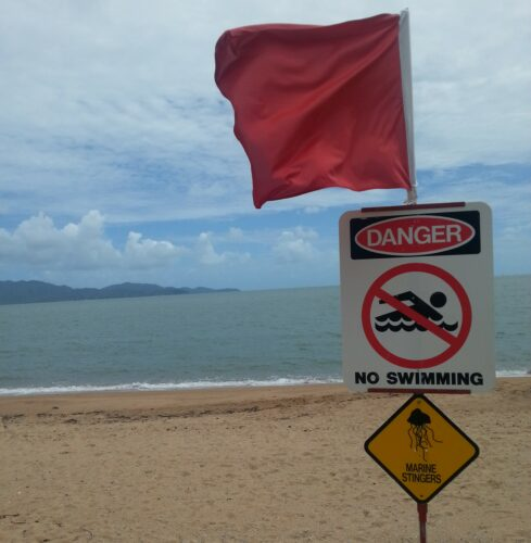 Townsville, No Swimming - Marine Stingers