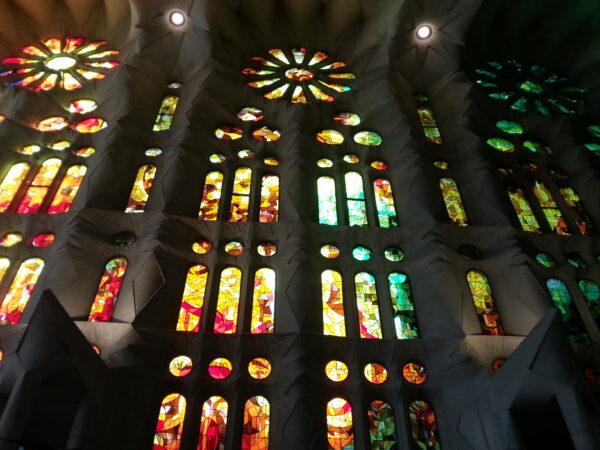 Barcelona, Sagrada Familia Window View