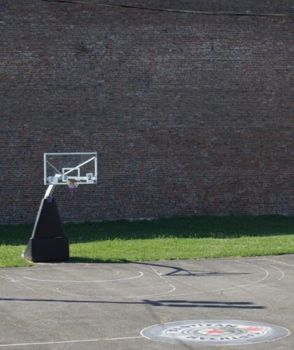 Basketball Court Inside Belgrade Fortress
