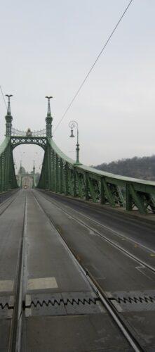 Budapest, Bridge Across Danube
