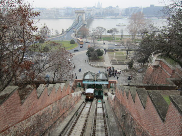 Budapest, Castle Hill Funicular