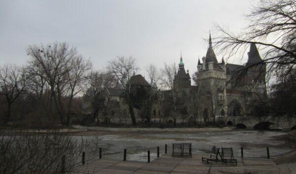 Budapest, City Park View To Vajdahunyad Castle