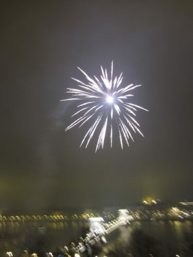 Budapest, Fireworks At New Year