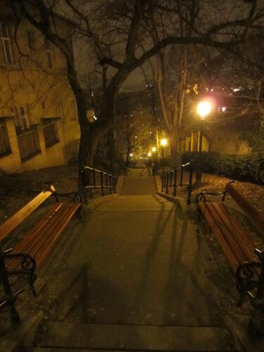 Budapest, Stairways At Night