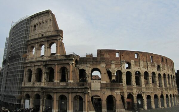 Rome, Colosseum From Outside