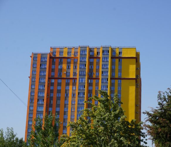 Dushanbe, Residential Building
