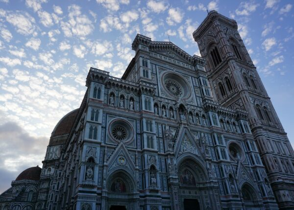 Florence, Front View Cathedral Of Santa Maria Del Fiore