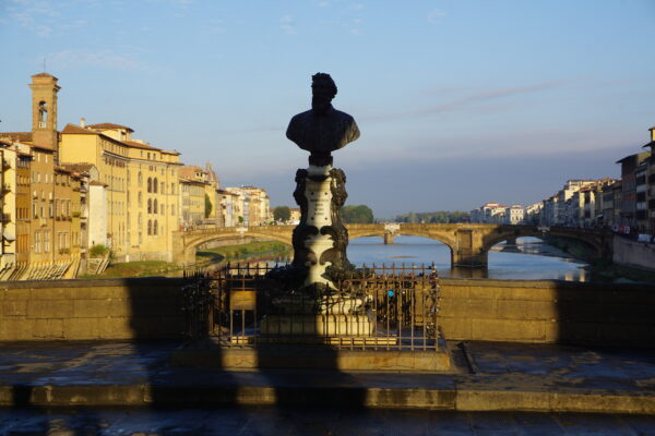 Florence, Monument To Benvenuto Cellini