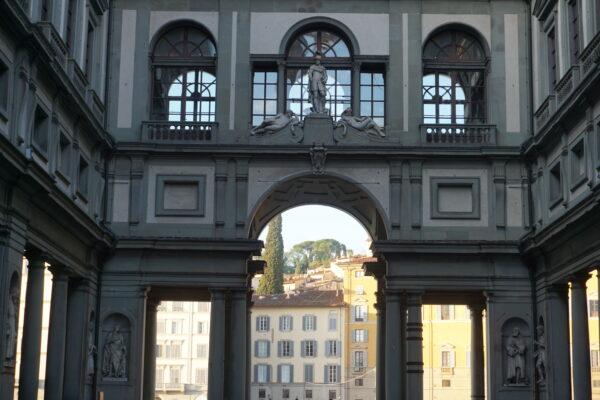 Florence, Piazzale Degli Uffizi