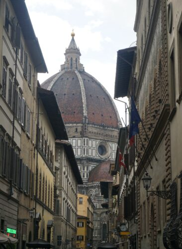 Florence, Street View To Cathedral