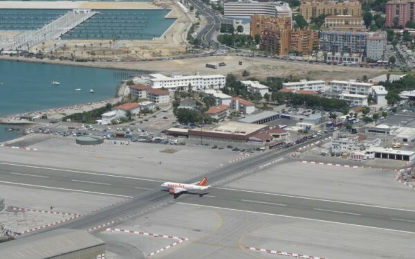 Gibraltar, Aircraft On Runway