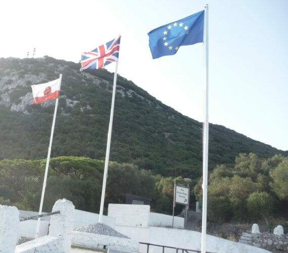 Gibraltar Flags