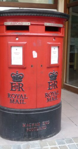 Gibraltar, Royal Mail