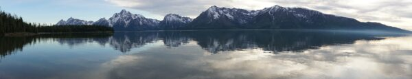 Grand Teton National Park, Jackson Lake Panorama
