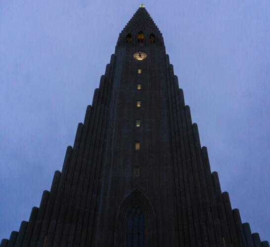 Hallgrimskirkja At Reykjavik, Iceland