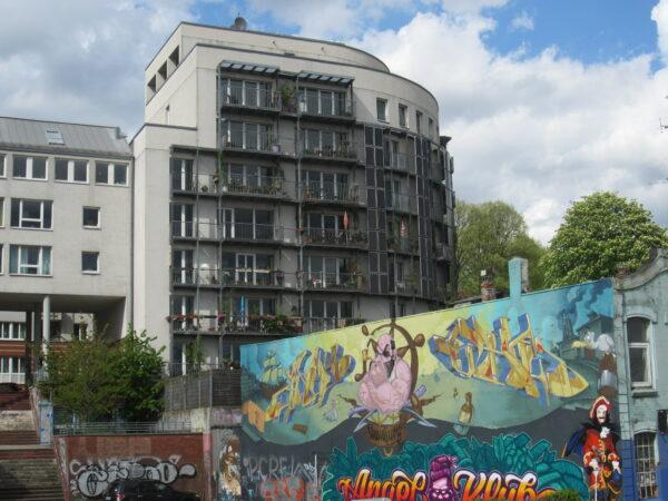 Hamburg, Graffiti