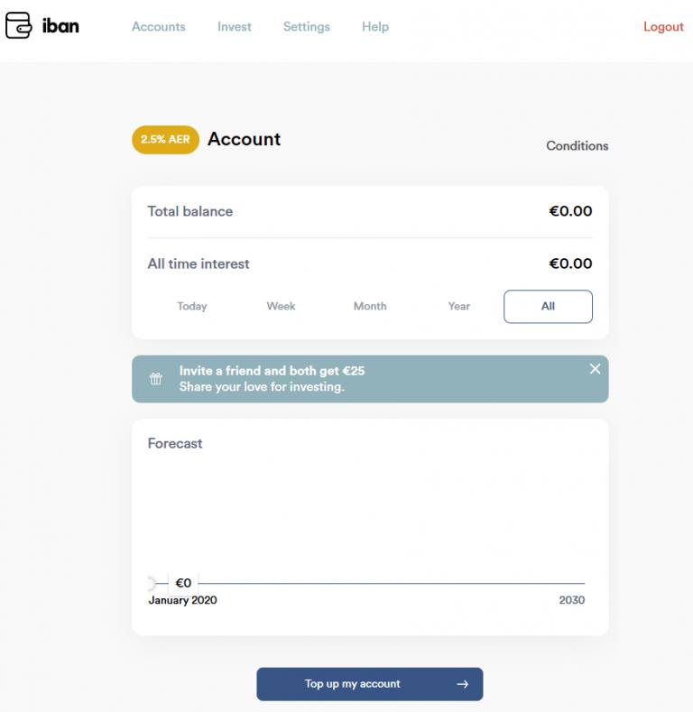 Iban Wallet Landing Page