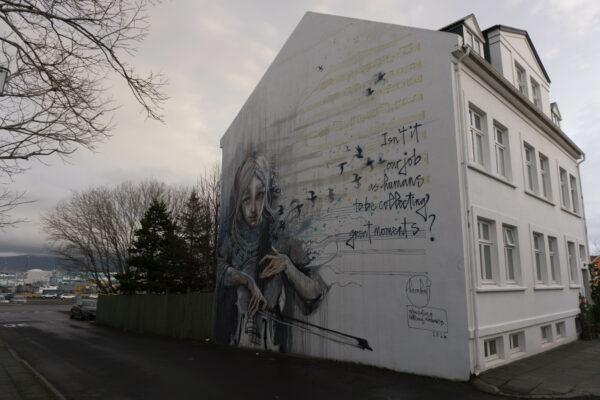 Iceland - Reykjavik, House Paintings