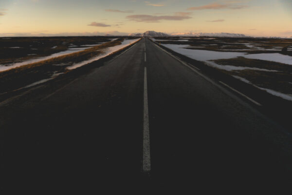 Iceland, Infinity Road To Mountains