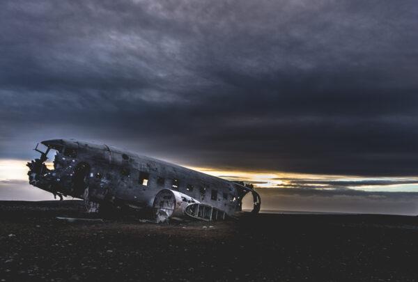 Iceland, Solheimasandur Plane Wreck