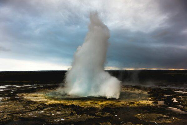 Iceland, Strokkur Geyser