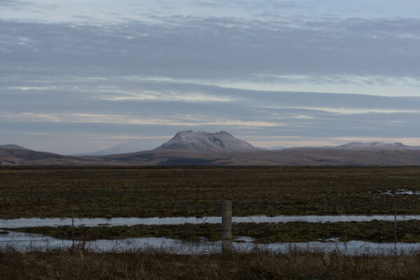 Iceland, View To Hekla Volcano