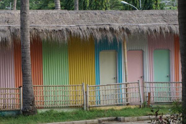 Indonesia - Banyuwangi, Beach Huts