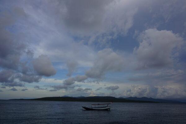 Indonesia - Banyuwangi, View To Bali