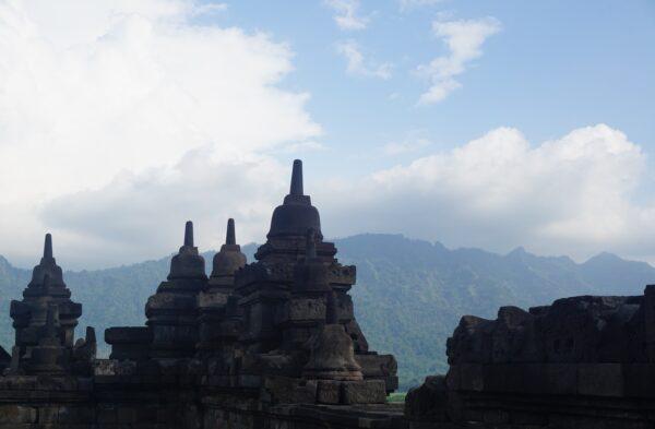 Indonesia, Borobudur View